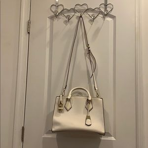 Off White Purse with strap